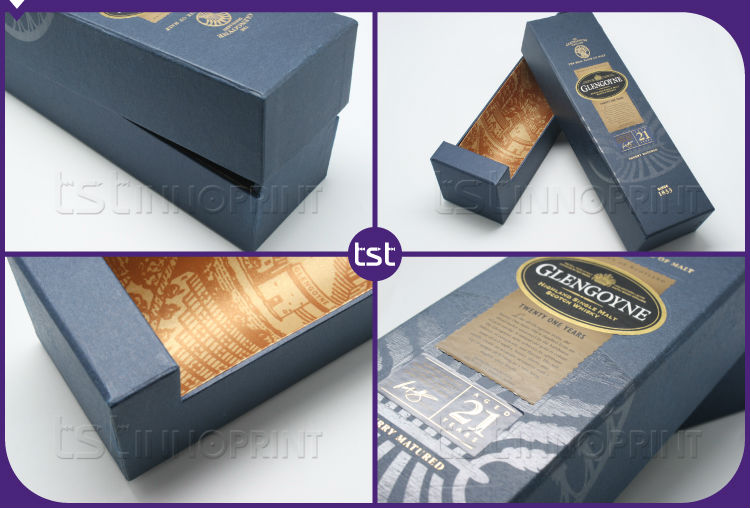Custom Design High Quality Wine Box with Packaging