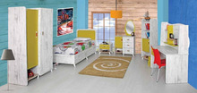 racing bedroom set / Girls furniture / Kids mobilya