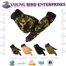 MILITARY AIRSOFT HUNTING TACTICAL GLOVES PROTECT ARMED CYCLING