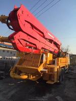 Used 37m Concrete Boom Pump Truck/24m 37m 39m 42m 48m 52m Truck mounted Concrete Boom Pump