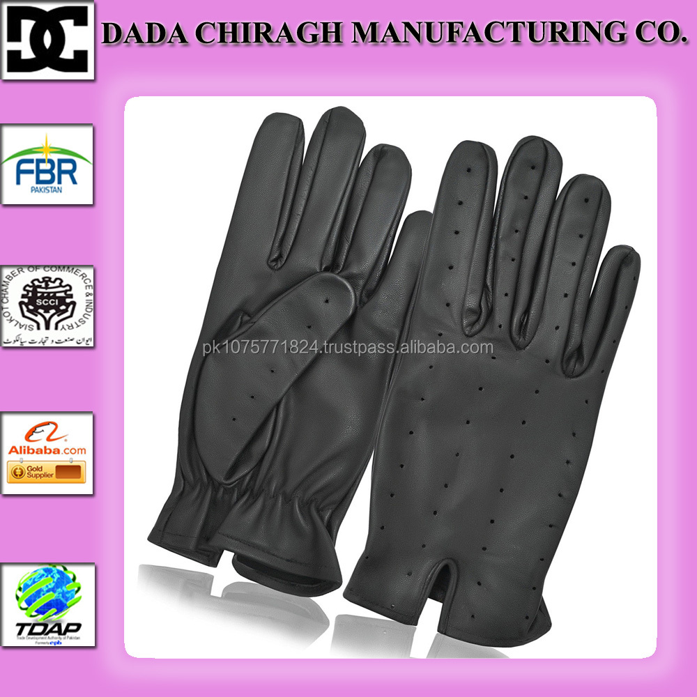 PREMIUM QUALITY SOFT LEATHER DRESS DRIVING GLOVES RETRO STYLE MENS VINTAGE