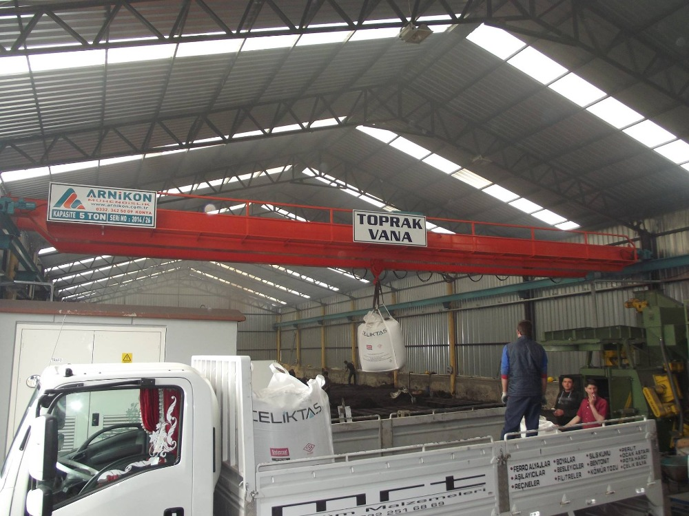 overhead crane from turkey