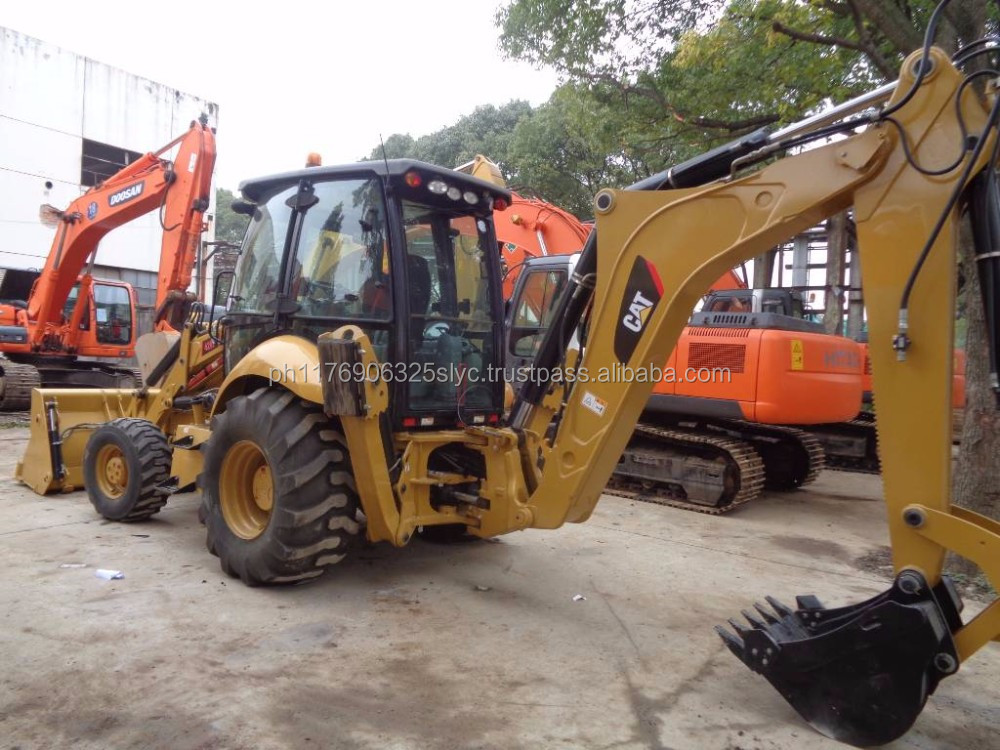 Used CATERPILLAR 420F Backhoe Loader CAT Backhoe Loader FOR SALE IN CHINA