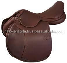Horse riding saddle,leather horse saddle,jumping saddle