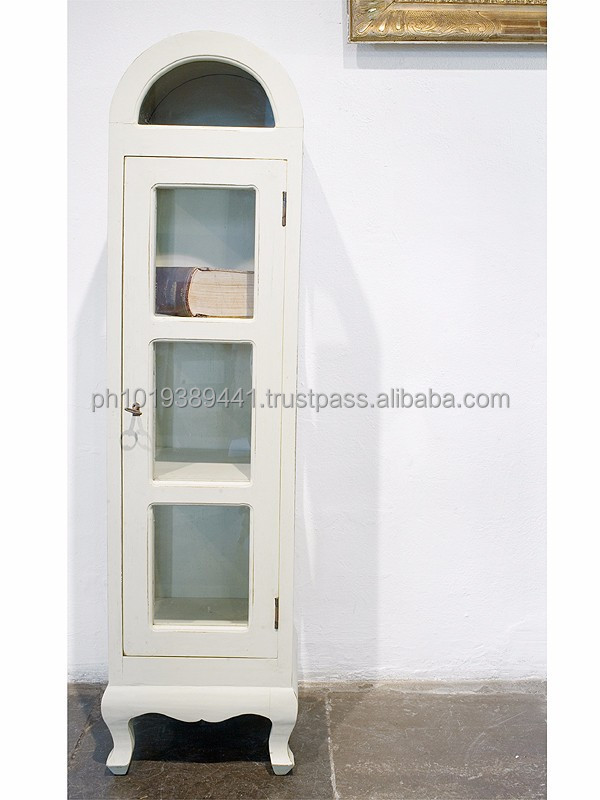 Dome cabinet with glass