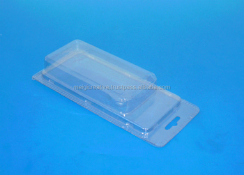 Plastic clamshell for electronic products