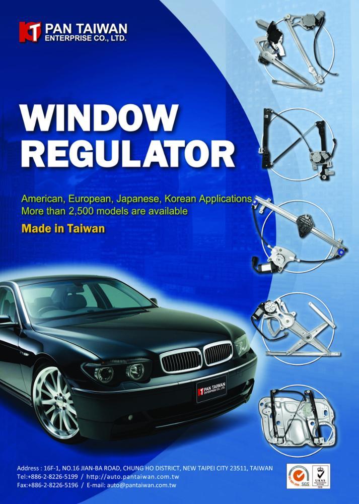 For Porsche 911 Boxster Cayman Passenger Right Electric Window Door Regulator