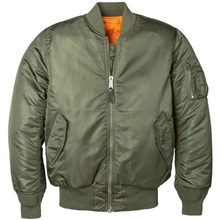 Custom Bomber Jacket/ wholesale adult custom winter brand padded mens jacket/ma-1 bomber jackets From SHAMEER IMPEX