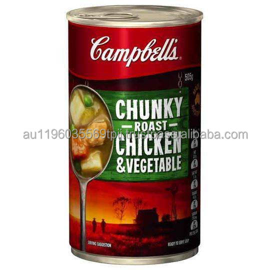 Campbell's Canned Soup Chunky Roast Chicken & Vegetable 505g