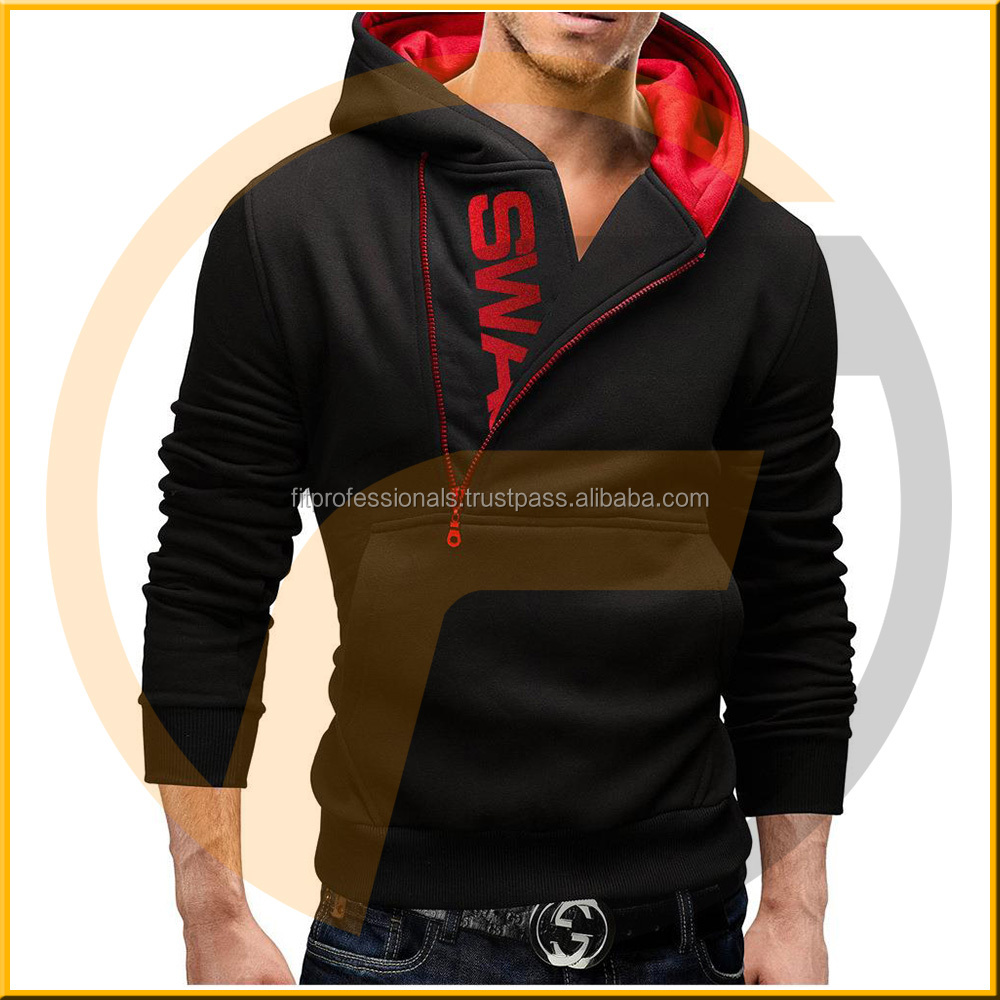 Online shopping mens clothing sweatshirt with half zip collar paint prices blank long sleeve mens