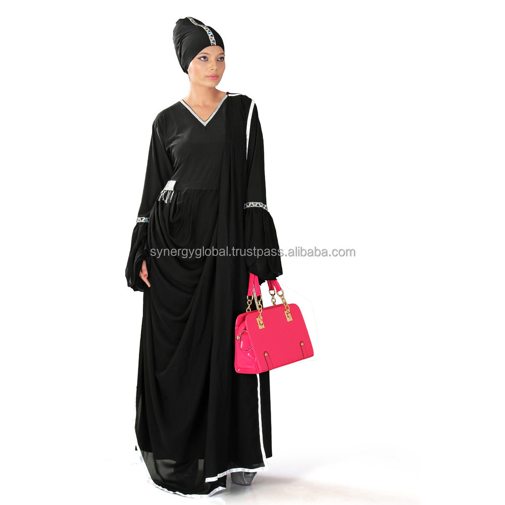 High Quality Muslim Abaya With Fashion Design for daily wear - Islamic clothing wholesale