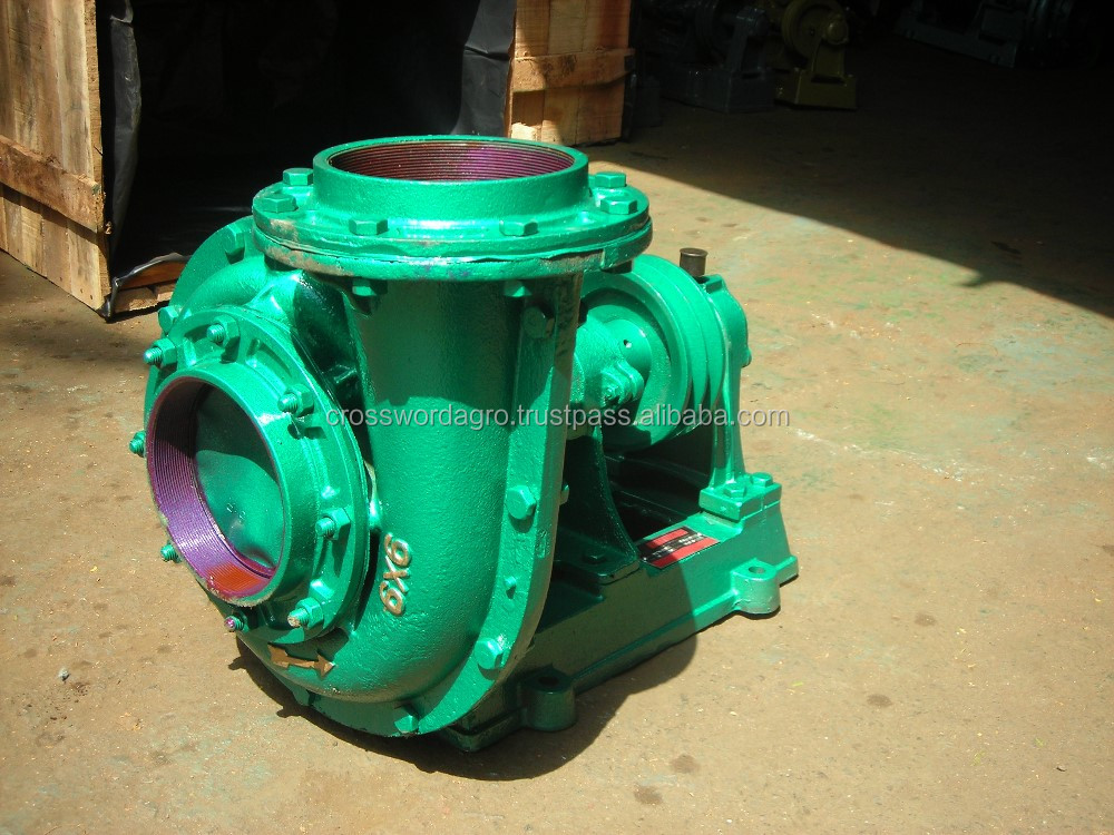 Centrifugal water pump 6x6 volute casing