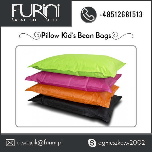 100% Cotton Stylish Pillow Kids Bean Bag from Top Certified Company