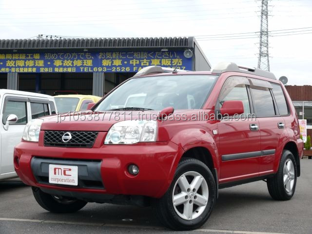 Right hand drive and Good looking used cars suv made in Japan X-TRAIL 2.0Stt 4WD 2006