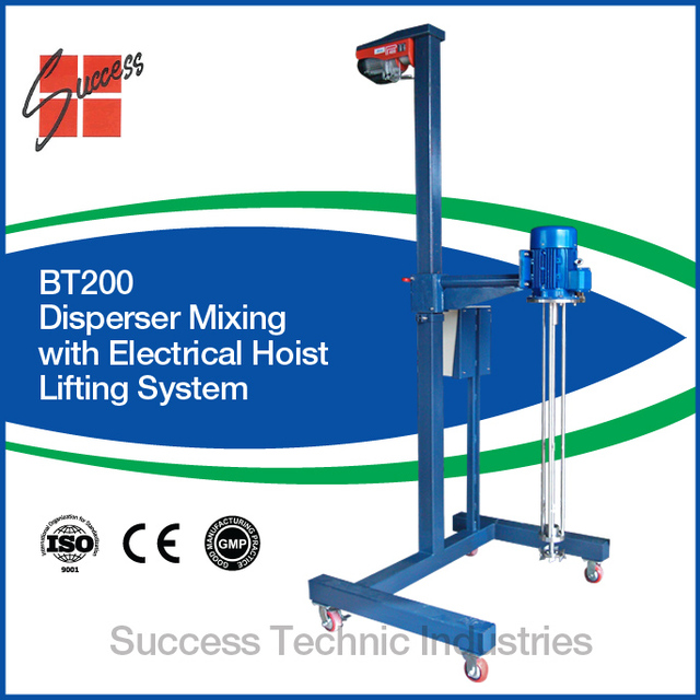 BT200-05 batch industrial homogenizer/disperser/chemical mixer/cosmetic homogenizer