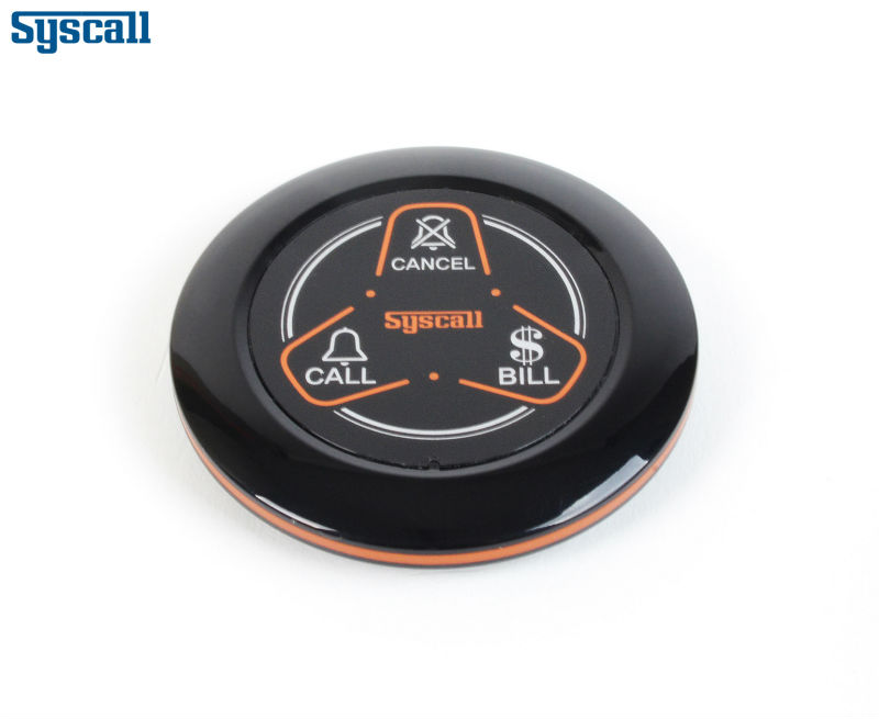 Emergency call bell wireless table call button waiter calling system