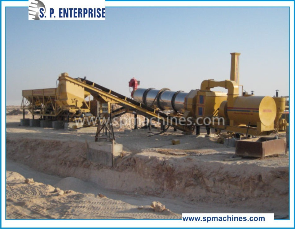 Asphalt Factory 25 TPH to 150 TPH, Stationary, Portable and Mobile