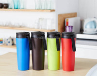 350ml double wall mighty tumbler with suction