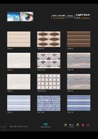Decorative wall tiles Digital Collection Glossy Finish.