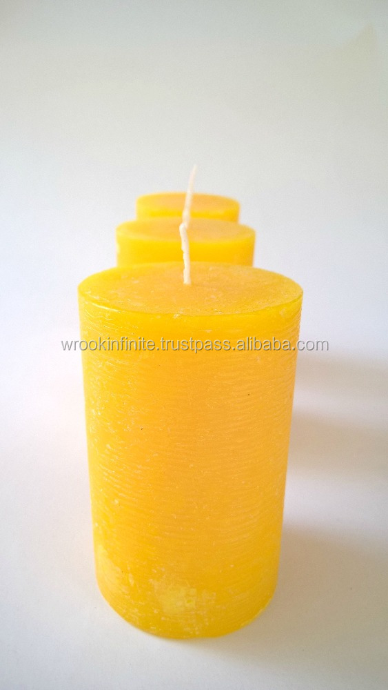 Citronella Pillar Candles