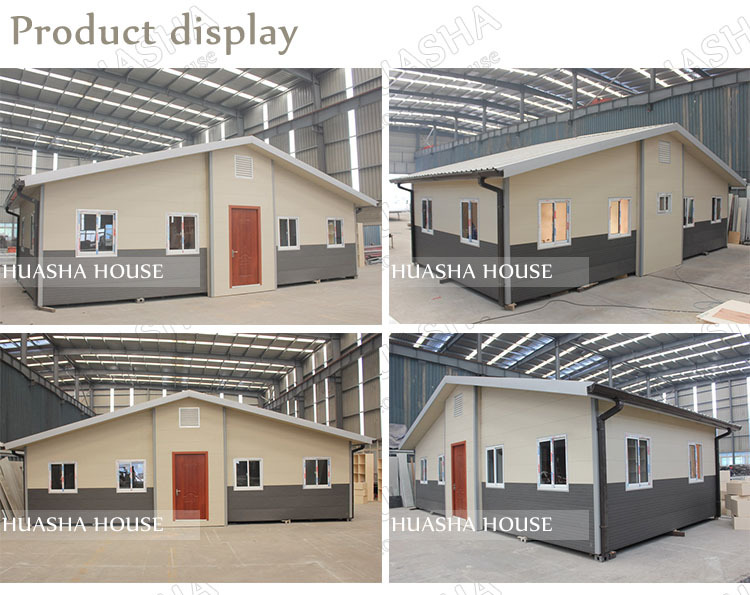Good design light steel structure new manufactured homes