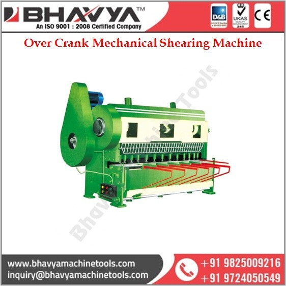 Widely Used Best Selling Over Crank Mechanical Shearing Machine