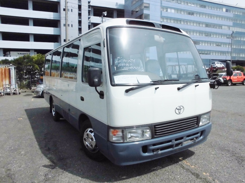 Excellent condition used toyota coaster bus with multipul functions made in Japan