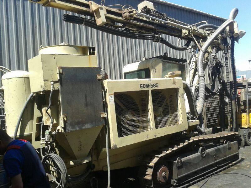 Atlas Copco Ecm 585 Hydraulic Rock Drill