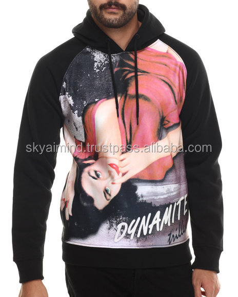 100% polyester fleece sublimation hoodies/high quality sublimation polyester fleece hoodies/3d printing sublimation hoodies