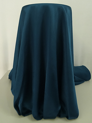 Dark Sultry Blue 100% Acetate Twill Satin Lining. Korea acetate satin. 100 acetate satin