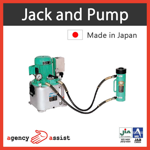 High quality mechanical lifting devices jack with low & high pressure made in Japan