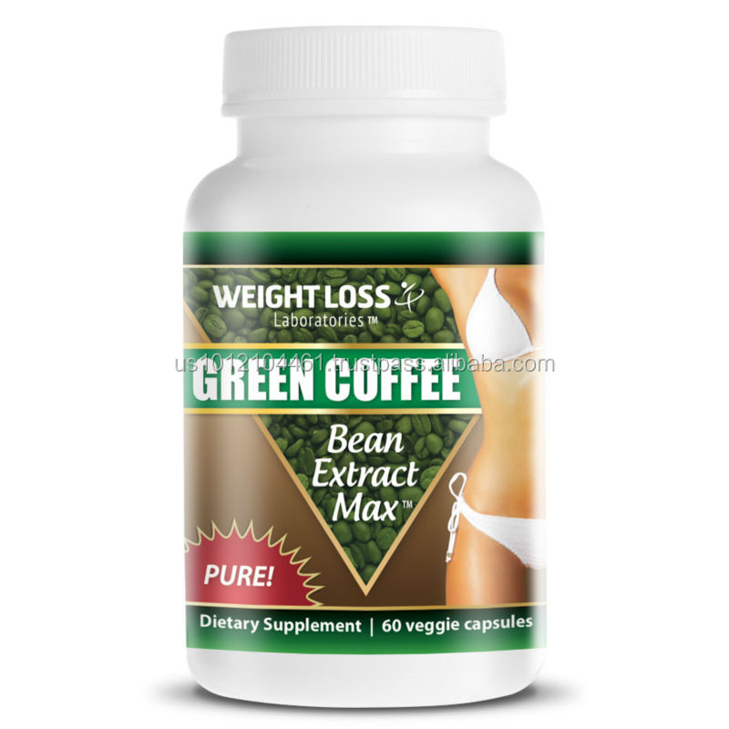 Weight Loss GREEN COFFEE BEAN EXTRACT Capsules 800mg GMPc Diet Supplement
