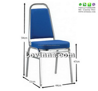 Banquet Chair Malaysia, Chrome Banquet Chair, Cheap Banquet Chair, Conference Chair, Metal Chair, Johor Hs 9006