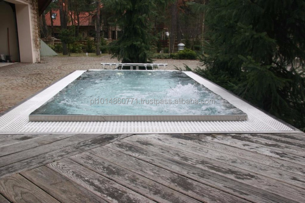 Stainless steel swimming pool ready to use, portable swimming pool, best quality