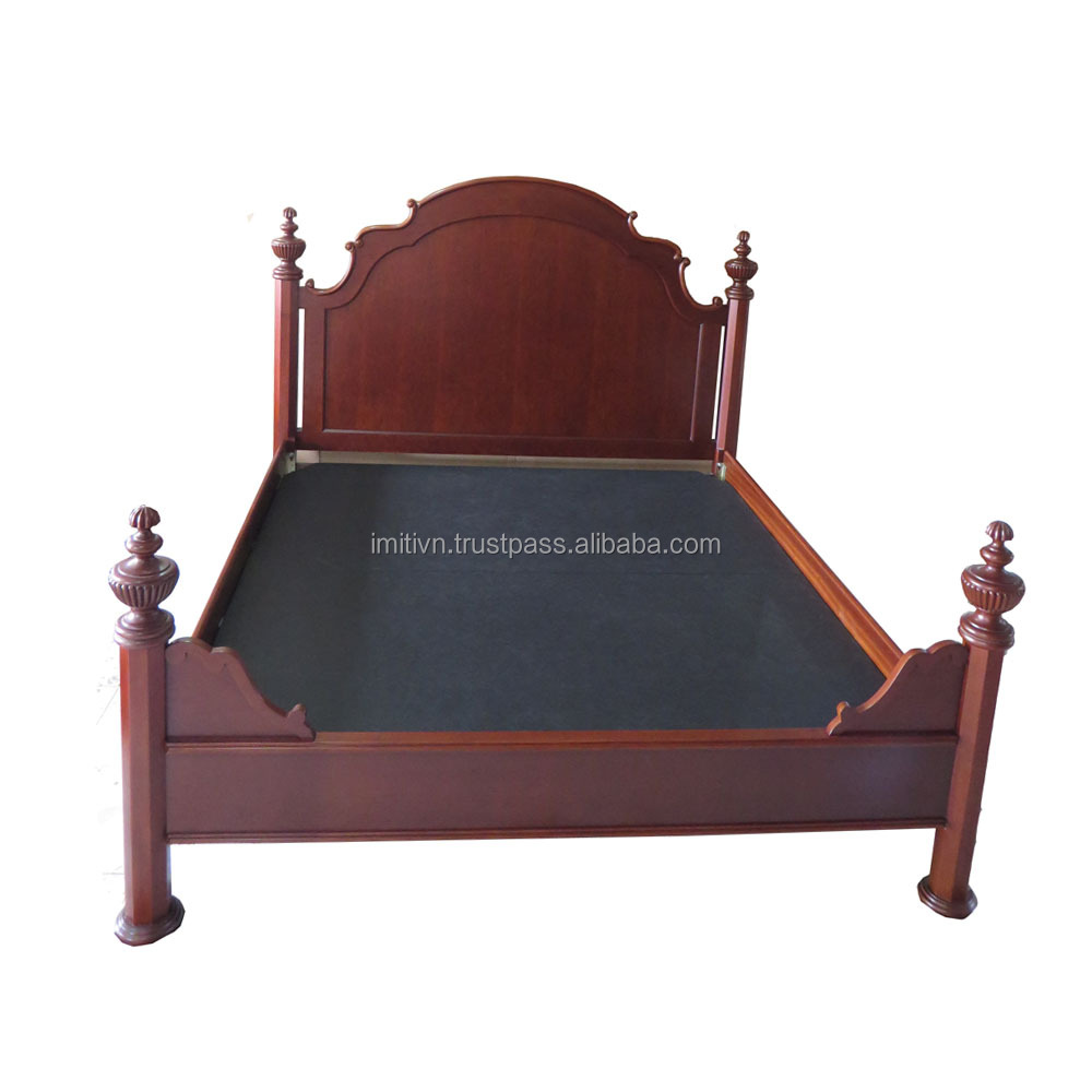 luxury furniture antique style factory offer hotel bedroom furniture bed frame