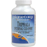 Triphala Internal Cleanser, 500 MG, 180 caps by Planetary Herbals