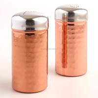 Personalized Copper Salt and Pepper Shaker