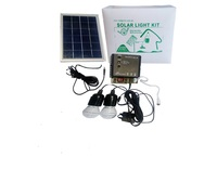 Solar Light Kit, 5w Solar Panel, lantern , Power bank, LED LIGHTS