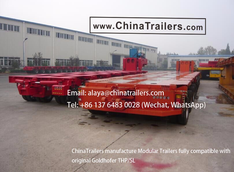 Detachable gooseneck lowbed trailers for sale