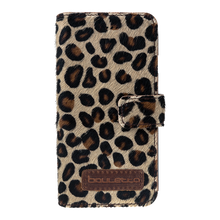 leopard figure leather case for iphone 7 Plus
