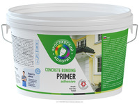 Adhesive bonding primer for concrete walls