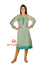 Women's, Girls Long Sleeves Kurti, Kurta, Casual Dress, Ethenic wear