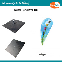 Flag Metal Panel 30*30cm