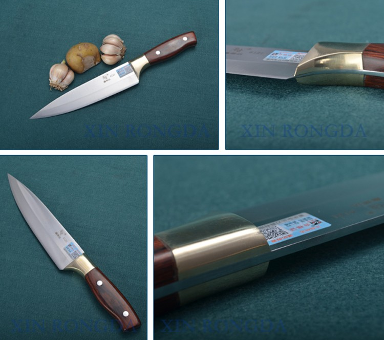 New Fashion Wooden Handle Steel Pakistan Collector Knife In Gift Box Packing