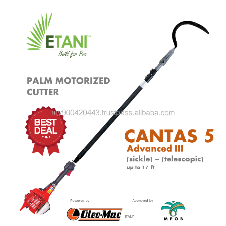 PALM MOTORIZED CUTTER - CANTAS 5 ADVANCED III (SICKLE)