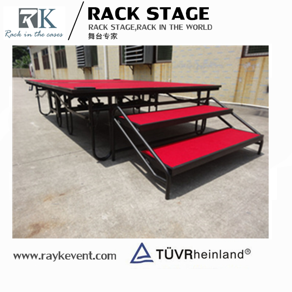 Competitive Price acrylic wooden stage platform