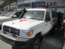 TOYOTA LAND CRUISER HZJ78 HARDTOP AMBULANCE 4.2 L DIESEL - 2015 MODEL