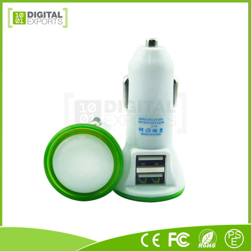 Digital Exports custom wholesale usb car charger adapter for cell phone