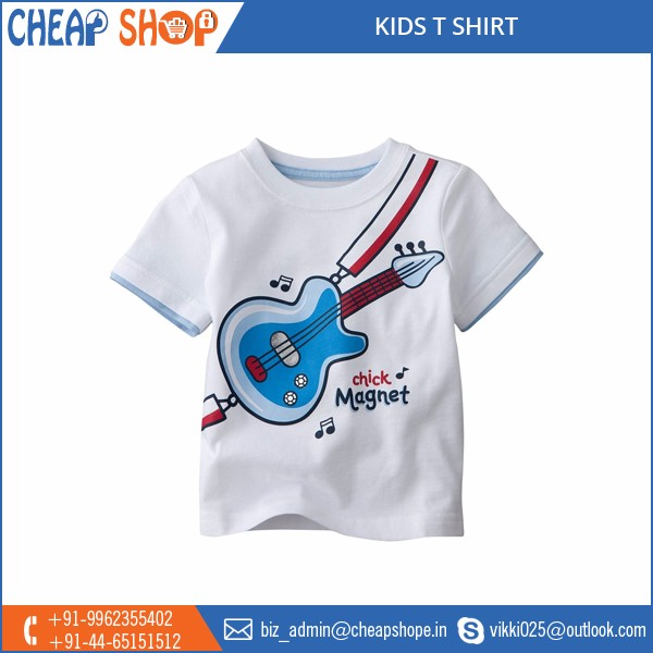 Excellent Quality Round Neck Kids T Shirt from Wholesale Supplier