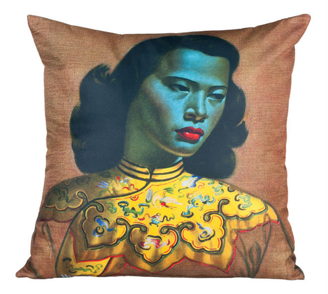 Tretchikoff Chinese Girl Cushion Cover